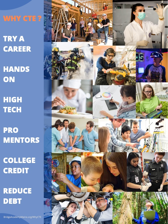 Career and Technical Centers in Maine open pathways to high-paying and high-demand jobs.